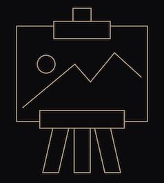 art framing icon